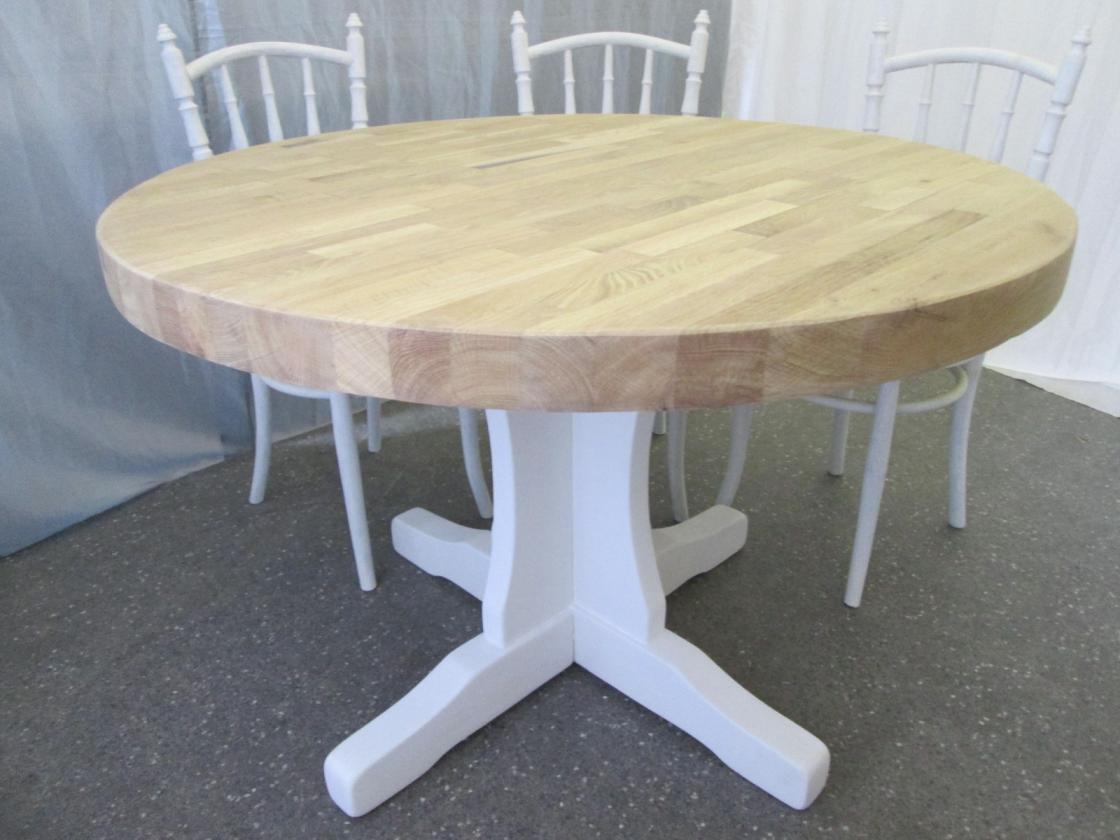 Witte ronde eettafel great saarinen tafel cm hoogglans wit with